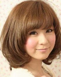 推荐适合胖脸的短发发型 小脸波波头提升异性缘
