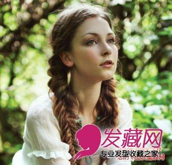 欧美爆逼_林中清新欧美发型风格,展露精致的脸庞十分妩媚(2)