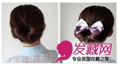 端庄气质盘发发型 做优雅女人(4)图片