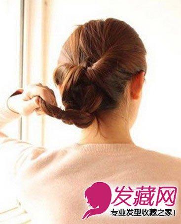中长发怎么扎好看(6)图片