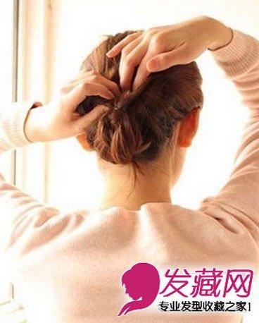 中长发编发步骤图解_裕安图片网; 韩式编发盘发长发怎么扎好看(7); 图片