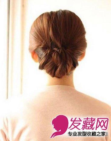 长发怎么扎好看(8); 长发怎样盘发简单好看图片