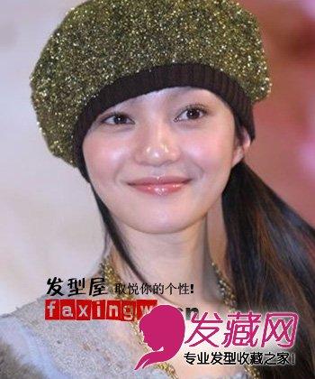 歌坛美少女张韶涵百变发型分享(2)
