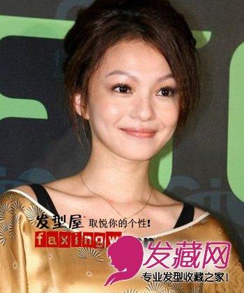 歌坛美少女张韶涵百变发型分享(4)