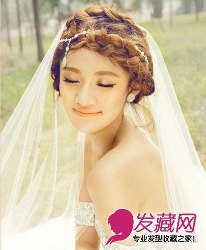 2015最新新娘发型推荐 甜美浪漫(2)