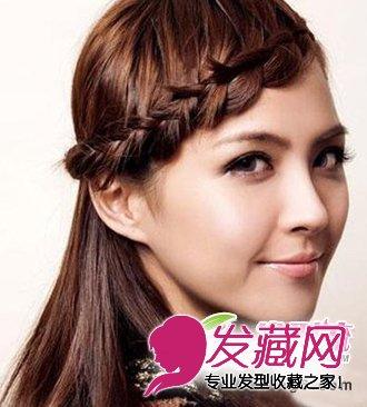 韩式麻花辫发型扎法 最新韩式发型欣赏图片