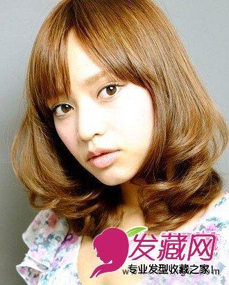 斜刘海梨花头图片-十月精选梨花头 跟大脸说拜拜 4 女生发型与脸型 发
