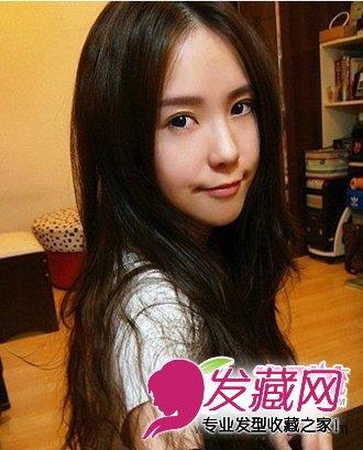 霸气中分刘海发型 打造2012流行发型图片