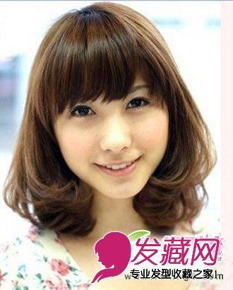 五款圆脸适合的梨花头发型图片-适合圆脸型的梨花头
