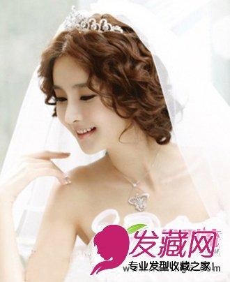 唯美浪漫最最美新娘 韩式新娘发型图片(3)