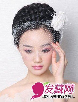 头上的发辫是 →新娘发型大猜想 林心如婚纱照 →陈妍希新娘发型 准