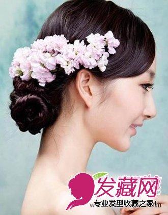 中式新娘发型图片 追求属于自己的美丽