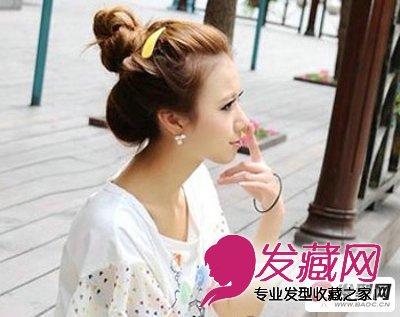 发型设计 丸子头发型设计图片 让你更加小清新(9)