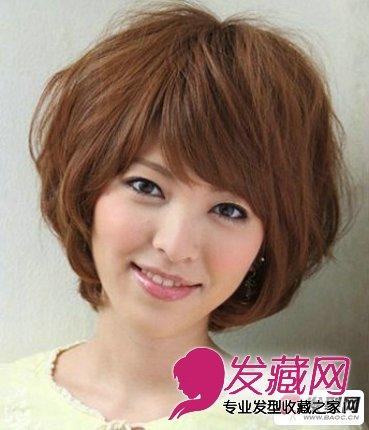 图】发型烫发发型2015图片女生烫发发型短发短发中长烫发图片少女图片