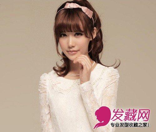 2013年最新流行女生发型 韩式长发发型大盘点图片