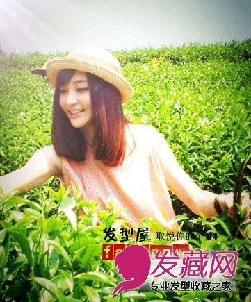 【图】童颜美女姚笛减龄齐刘海发型图片(4)