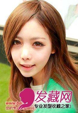 街拍齐刘海适合什么脸型(5)