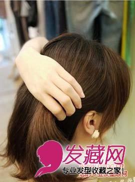 教你短发怎么扎简单好看,加入编发发型更好看