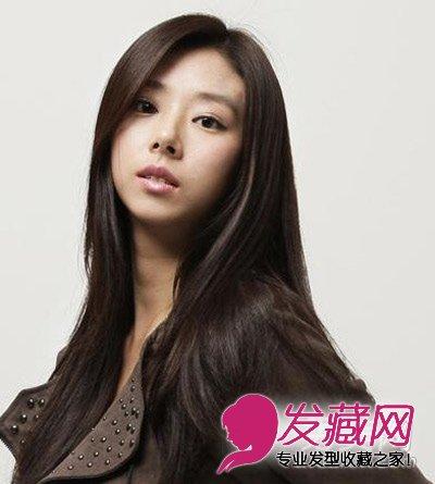 时尚韩式发型 为鹅蛋脸增添气质(4)