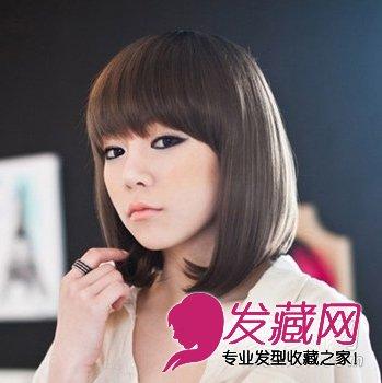 遮盖大脸发型有哪些 最佳韩式内卷波波头