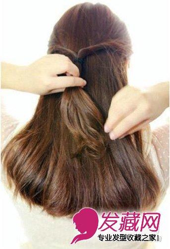 职场OL什么发型好看 韩式盘发简单又优雅 3