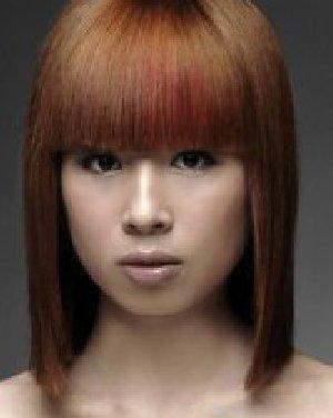 最新沙宣发型图片  发型流分享女士沙宣发型