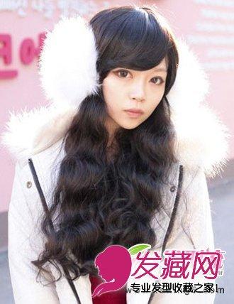 v圆脸圆脸发型公主适合的图片发型(5)发型图片孩子图片