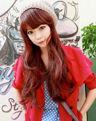 韩式长卷发发型  时尚浪漫又修颜