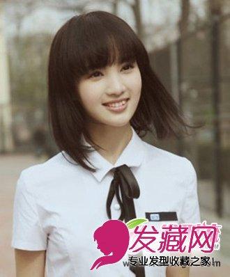流行女生短发发型图片 时尚靓丽短发发型(3)  导读:学生气质短发 发型图片