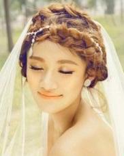 唯美韩式新娘发型