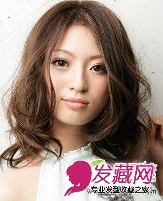 【图】甜美修颜轻盈中长发发型分享(2)图片