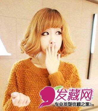 齐刘海+短发梨花头-最新减龄齐刘海发型 打造萌系少女发型