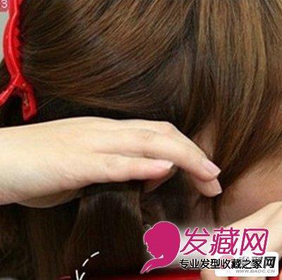 蛋卷头怎么烫 韩式蛋卷头发型教程(4)