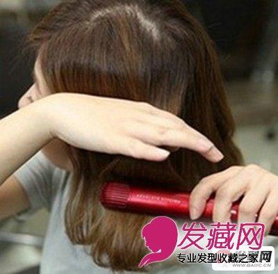 蛋卷头怎么烫 韩式蛋卷头发型教程(8)