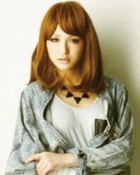 3D女生假发打造完美长头发造型 甜美动人