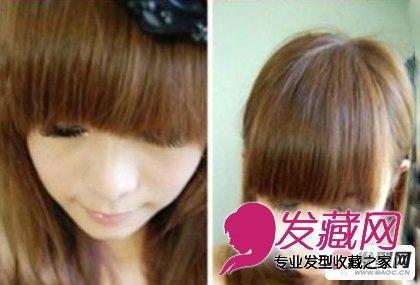 齐刘海怎么剪好看 简单的齐刘海发型修剪教程(3)