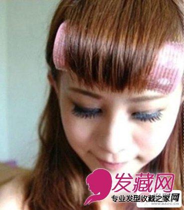 齐刘海怎么剪好看 简单的齐刘海发型修剪教程(8)