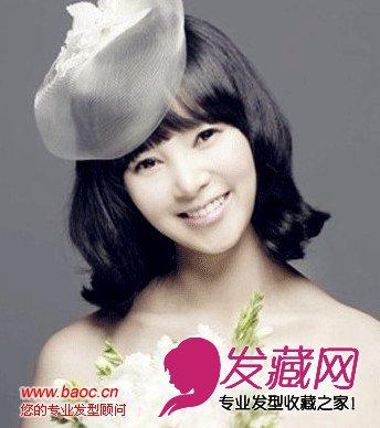 时尚发型 > 夏季清爽新娘发型图片,做个浪漫甜美的新娘(2)  导读:俏皮