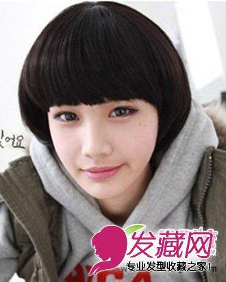 短发怎么烫好看 韩国女生流行短发发型(2)
