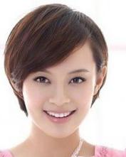 短发 孙俪 发型/短发发型图片 女生短发型设计(4)