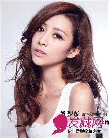 清新 杨璐/长卷发发型多年了一些成熟女人味。