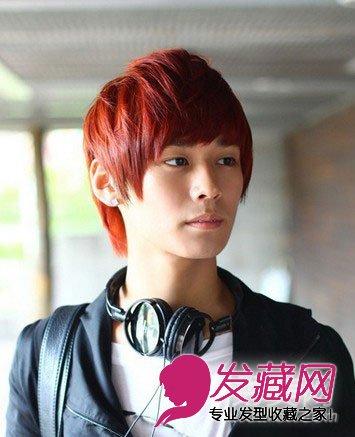 2015年韩式男生短发烫发发型抢先看(3)