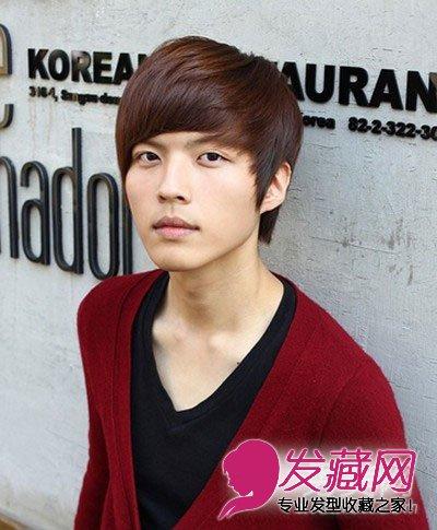 2015年韩式男生短发烫发发型抢先看(6)