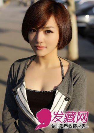 冬季流行的短发发型 打造最佳潮女范(4)