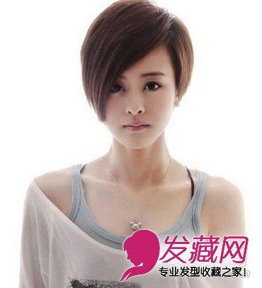 发型网 流行发型 短发发型 > 2015最新款女生短发 尽显优雅女人味(7)图片