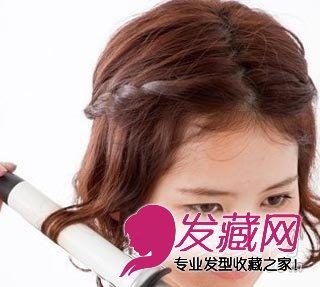 发型网 发型diy 编发教程 > 短发怎么编好看 最显瘦脸的短发编发教程