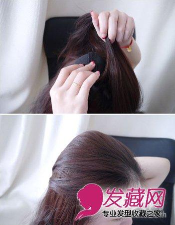 DIY公主蓬蓬头发型 简单发型一学就会 5
