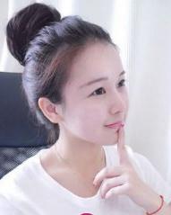 矮个女的福音 韩式丸子头扎发立增5cm
