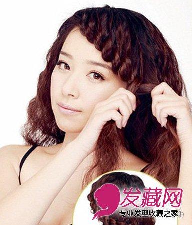 """巧手diy4款编发 打个结也能拥有漂亮发型呢 →""""六一""""小女孩发型"""