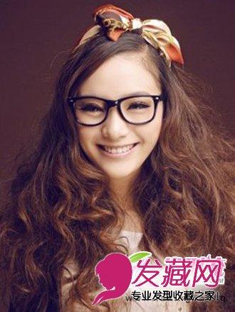 圆脸适合什么刘海 适合圆脸的刘海发型有哪些(3)